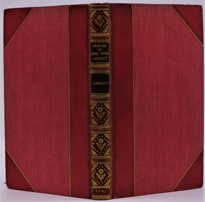 London: Richard Bentley, 1856. In signed Riviere & Son binding of half red polished calf over red bu...