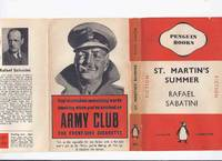 image of St Martin's Summer  ---by Rafael Sabatini ( Paperback in a Dustjacket Edition )( Saint )