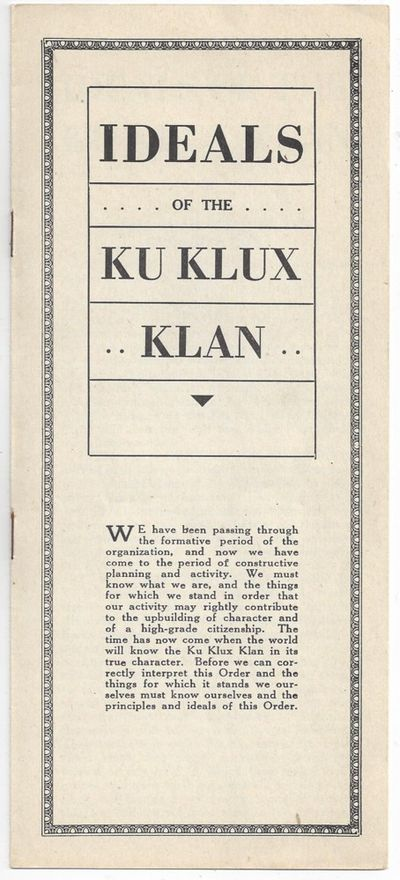 "the solution to the problem of the ku klux klan organization Kikes, kkk and the racial divide  the ku klux klan  because overall the video is useless drivel about america's first ""terrorist"" organization."