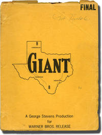 Giant (Original screenplay for the 1956 film, Bob Nichols' copy)