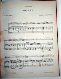 image of Sonata for Piano and Violin-
