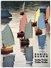 9 Arbeiten von Daniel Buren: Voile/Toile, Toile/Voile, Sail/Canvas, Canvas/Sail, Segel/Leinwand, Leinwand/Segel