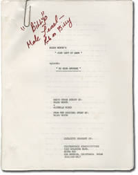 image of Just Left of Dawn: No Good Anymore (Two screenplays for an unproduced radio drama)