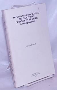 image of Diccionario Biografico de Escritores Cubanos en el Exilio (Contemporáneos)