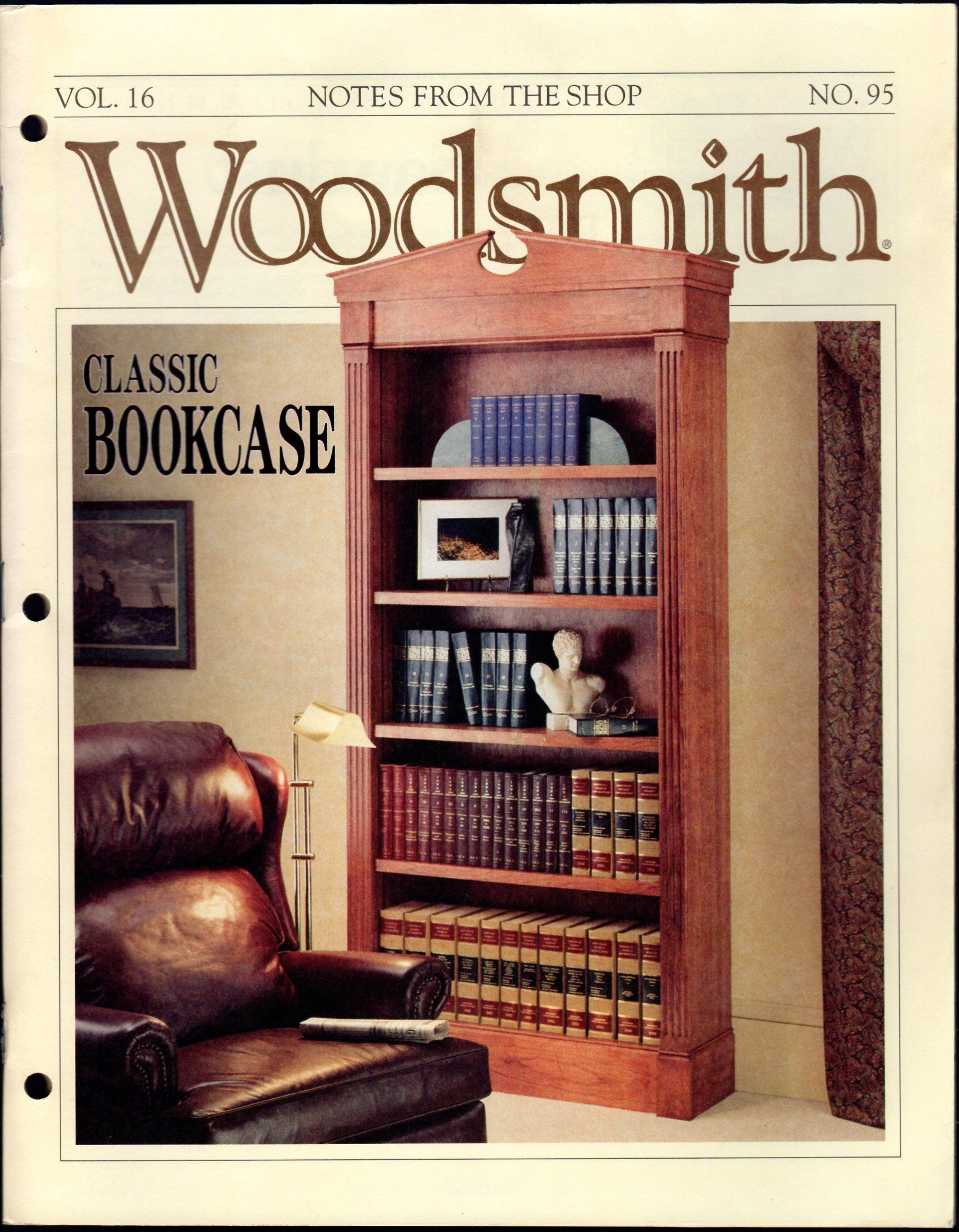 Woodsmith notes from the shop vol 16 95 octoberl for Fine woodworking magazine discount