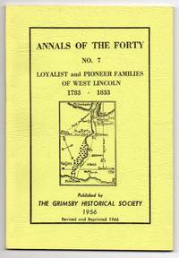 image of Loyalist and Pioneer Families of West Lincoln 1783-1833