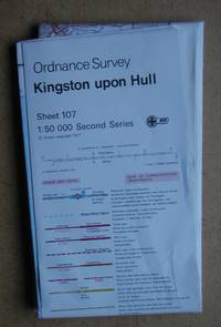 Kingston Upon Hull. Landranger Sheet 107.