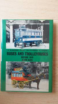 Buses and trolleybuses before 1919.