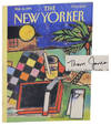 View Image 1 of 2 for Way Down Deep in the Jungle in The New Yorker March 14, 1994 (Signed) Inventory #172356