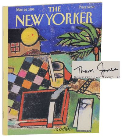 New York: The New Yorker, 1994. First edition. Softcover. The March 14, 1994 issue. The highlight of...