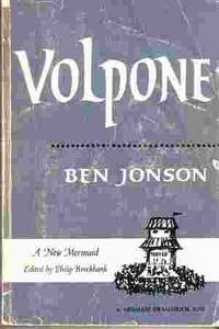 Volpone Edited by Philip Brockbank by  Ben Johnson - Paperback - 1969 - from Odds and Ends Shop and Biblio.com