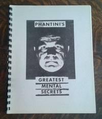 image of Phantini's Greatest Mental Secrets