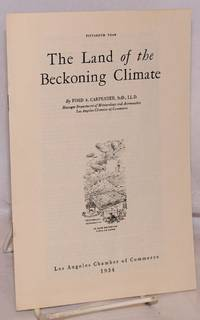 The Land of the Beckoning Climate; 15th year