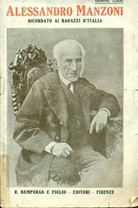 Alessandro Manzoni ricordato ai ragazzi d'Italia nel cinquatenario della morte (22 maggio 1873 -