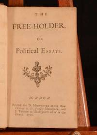 The Freeholder Or Political Essays By Addison Joseph Image Of The Freeholder Or Political Essays