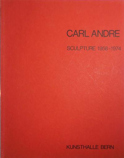 Bern: Kunsthalle Bern, 1975. First Edition. Paperback. Near Fine/No. Paperbound quarto. First editio...