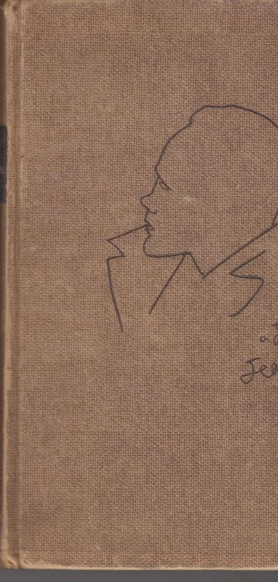 Paris: Morihien. 1949. First Edition. Hardcover. Brown paper covered boards with Cocteau's sketch of...
