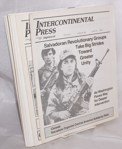 New York: Interncontinental Press, 1984. Magazine. Twenty four issues, 792 pages in total; all in or...