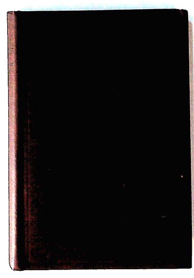 New York: Charles Scribner's Sons, 1922. Hardcover. Very Good. Hardcover. Scarce. 8vo. Brown cloth c...