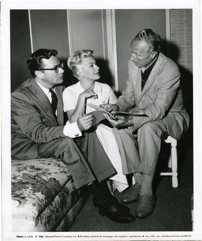 Universal City, CA: Universal Pictures, 1959. Vintage studio still photograph of director Douglas Si...