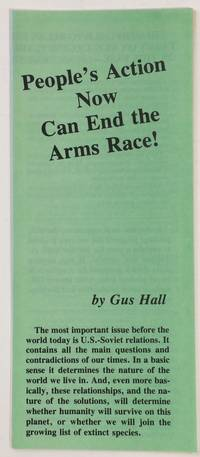 image of People's action now can end the arms race!