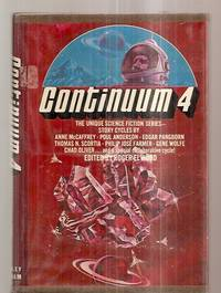 CONTINUUM 4 [THE UNIQUE SCIENCE FICTION SERIES] by  Barry N. Malzberg] [Dust Wrapper illustration by Vincent Di Fate]  Edgar Pangborn - ex-library - 1975 - from biblioboy (SKU: 74125)