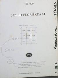 image of Topographical Map, South Africa: Floriskraal - 3320BD - 1: 50 000