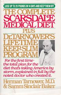 image of The Complete Scarsdale Medical Diet Plus Dr. Tarnower's Lifetime Keep-Slim  Program