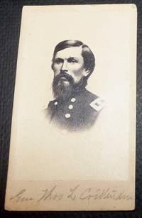 General Thomas Leonidas Crittenden - Carte De Visite