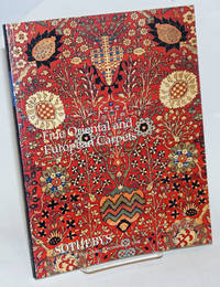 Fine Oriental and European Carpets; Sotheby's New York Wednesday December 16 1998