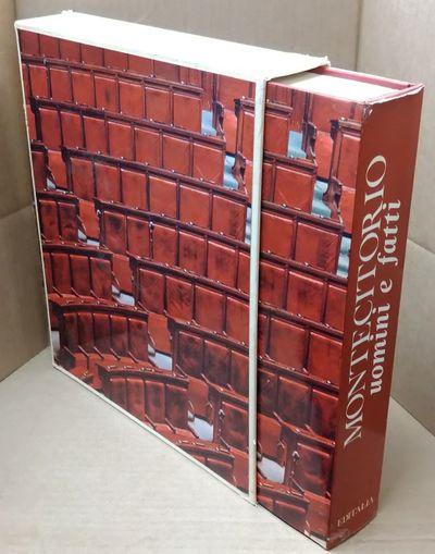Rome: Editalia, Edizioni d'Italia, 1970. Hardcover. Quarto; pp 369; VG-/G; dark red spine with ivory...