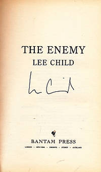 image of The Enemy [Jack Reacher]. Signed Copy