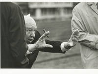 image of Topaz (Original photograph of Alfred Hitchcock from the set of the 1969 film)