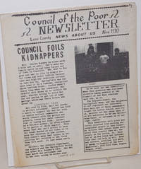 Council of the Poor Newsletter. Nov. 1970