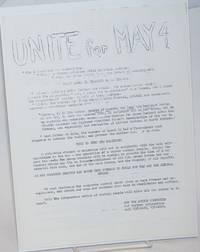 image of Unite for May 4th [handbill]