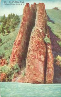 Devil's Slide, Utah early 1900s unused Postcard