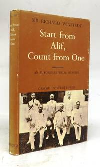 Start from Alif, Count from One: An Autobiographical Mémoire