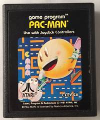 1981 Pac Man Atari 2600 Game Cartridge