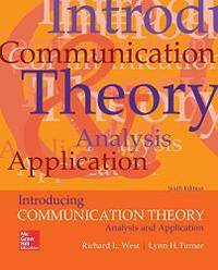 Introducing Communication Theory: Analysis and Application by Richard L West - Paperback - 2017-03-03 - from Books Express (SKU: 1259870324)