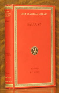 SALLUST (Loeb Classical Library, LCL 116)