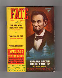 image of Fate Magazine - True Stories of the Strange and The Unknown. September, 1949. Mysterious Flying Disks; Man Who Talks to Trees; Was Lincoln a Mystic ?; Psychic Symphony; Middleton Island Curse; Nazca Lines; Aleister Crowley; Firewalking