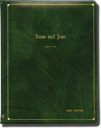 image of Ernie and Joan (Original screenplay for the pilot episode of an unproduced 1976 television series, presentation copy)
