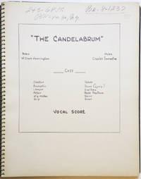 The Candelabrum. Book W. Clark Harrington ... [Piano-vocal score]