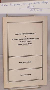 El primer legislador puertorriqueño en Nueva York: Oscar García Rivera