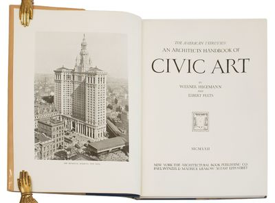 New York: Architectural Book Publishing Co., 1922. Large folio, gilt-lettered buckram. Spine faded b...