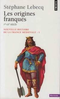 Nouvelle Histoire De La France Medievale.  Tome 1, Les Origines Franques, Vème-ixème Siècle by Lebecq Stéphane - Paperback - 2002 - from davidlong68 and Biblio.com