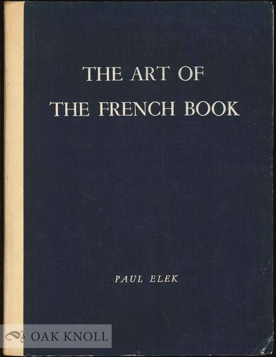 London: Paul Elek, 1947. cloth. 4to. cloth. 166 pages, 182 plates. S-K 1942. With chapters on manusc...