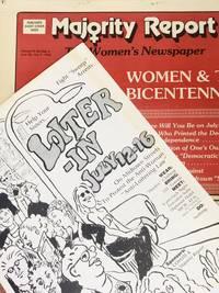 [PROSTITUTION] [POLITICS] Loiter-In flyer & Majority Report Newspapers COYOTE & Majority Report
