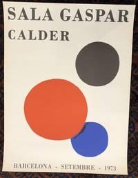CALDER. Sala Gaspar. (Original Poster)