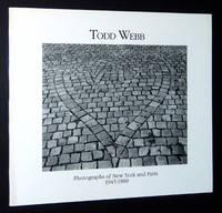 Todd Webb: Photographs of New York and Paris, 1945-1960